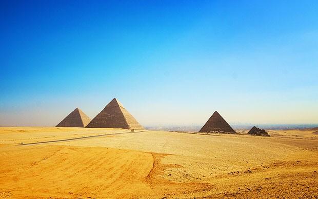 Pirámides: Keops, Kefrén y Micerinos