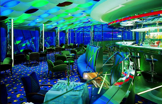 Restaurante lujoso en Dubái