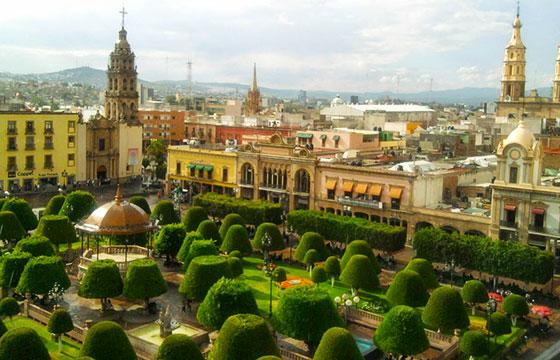 Centro de León Guanajuato