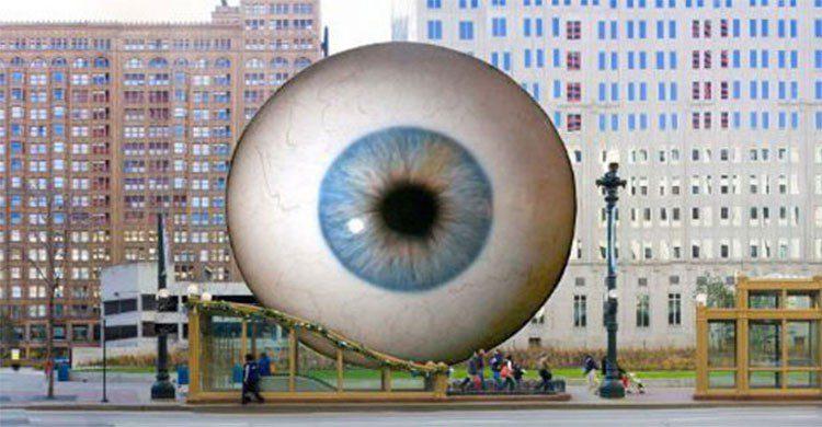 El gran ojo de Tony Tasset