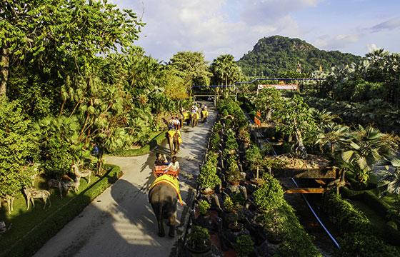 Jardín Tropical Nong Nooch