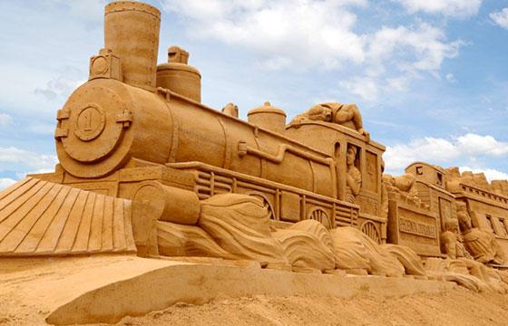 Tren de arena