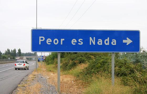 PEOR ES NADA