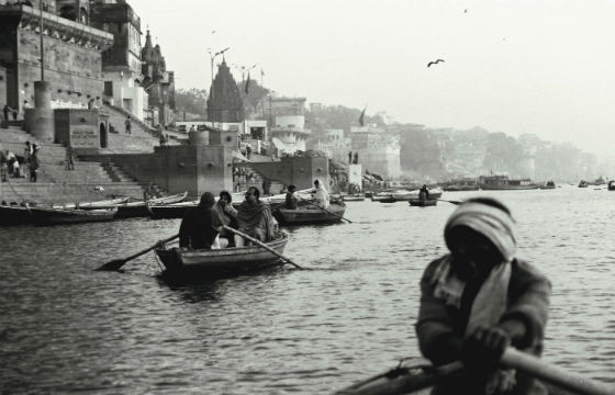 Ganges at Varanasi, India.-R Barraez D´Lucca-Flicker