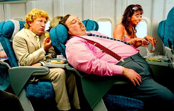 pasajeros incomodos