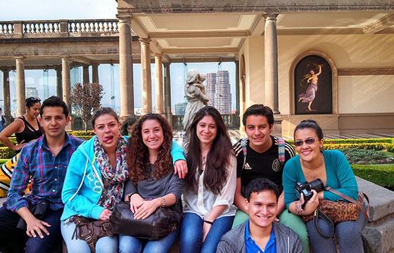 selfie castillo de chapultepec