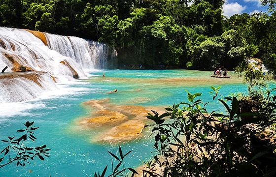 Cascada Chiapas