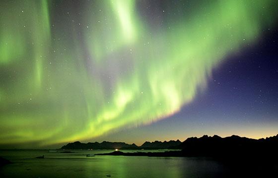 Northern Lights, Greenland-Nick Russill-Flickr