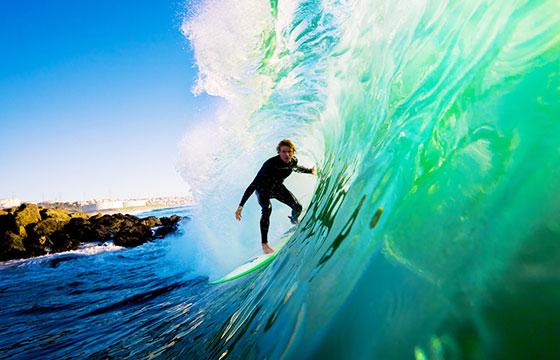 Surf en playas australianas