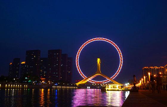 Tianjin Eye Ferris Wheel-Roman Tsisyk-Flickr