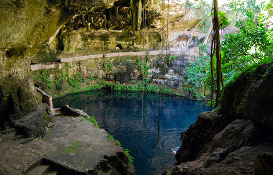 Cenote Zaci-Editada-Bernard DUPONT-http://bit.ly/1WSNmkh-Flickr