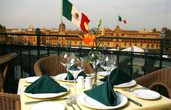 Terraza Gran Hotel Ciudad de México