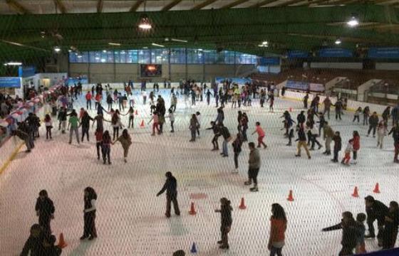 Pista de patinaje en San Jerónimo
