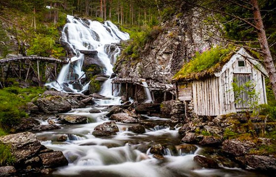 Cascada Kvednafossen