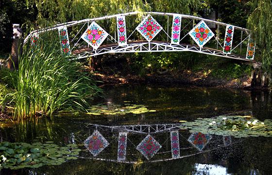 Puente en Zalipie