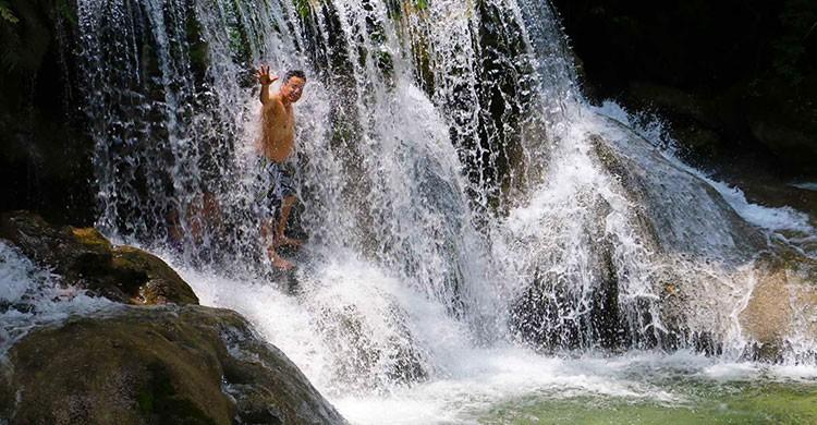 Cascadas de Copalita en Huatulco