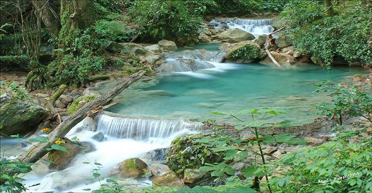 Cascada Chuveje en Querétaro