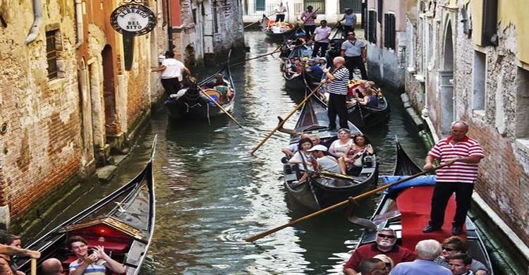 canales de Venecia, Italia