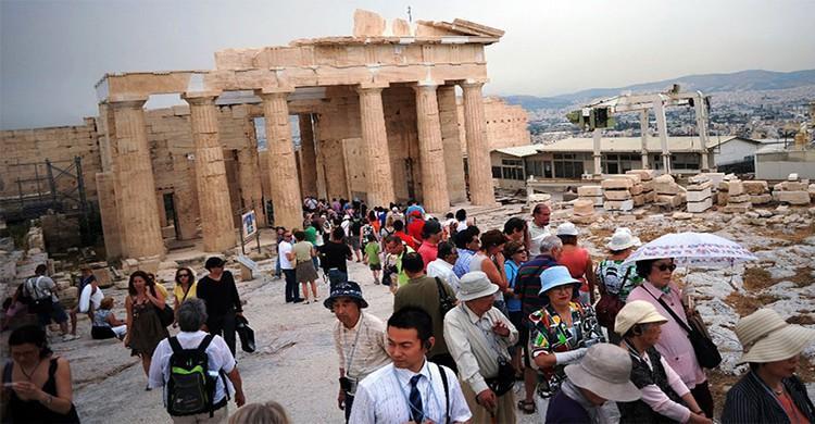 antigua Acrópolis de Atenas, Grecia