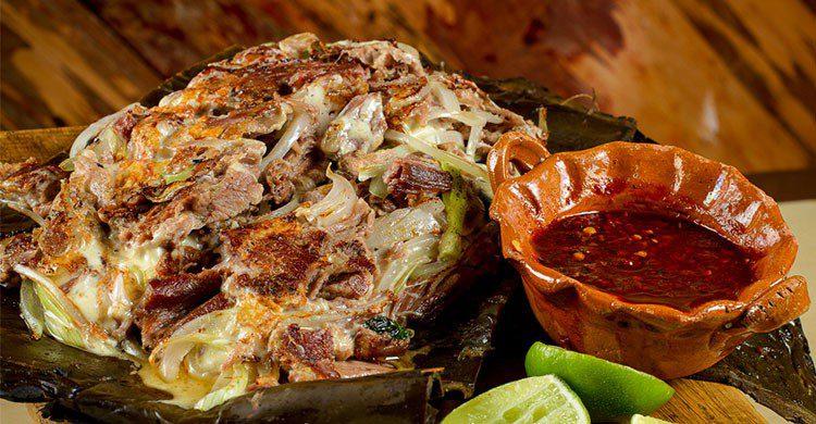 Barbacoa (típico de Hidalgo)