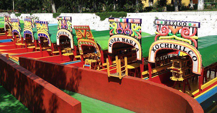 Xochimilco, Mexico (9)-Jorge Andrade-Flickr