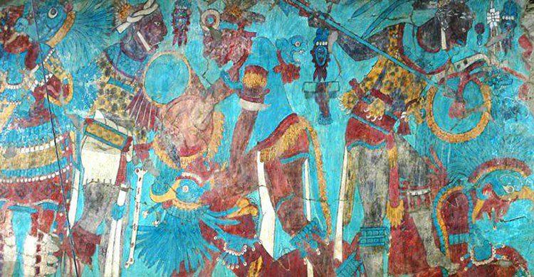 Murales Cacaxtla