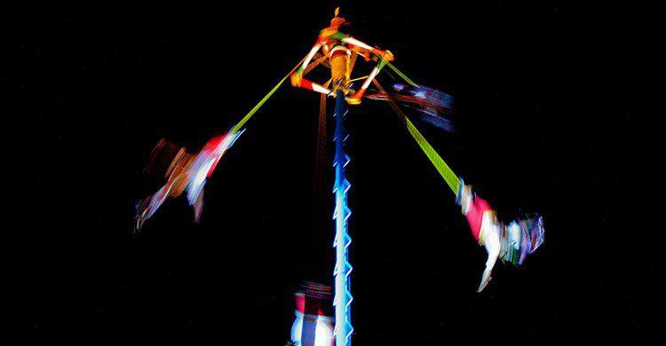 Voladores de Papantla en Tajín-Emigdio Hernández-Flickr
