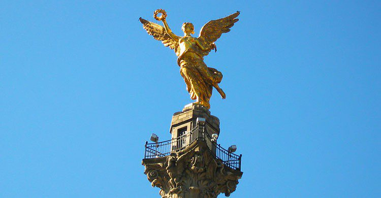 Detalle Angel De La Independencia-Editada-* CliNKer *-http://bit.ly/2cuo2B1