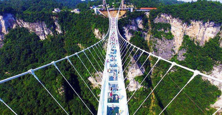 Puente de Cristal, China