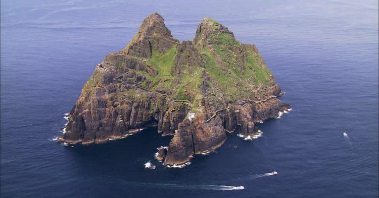 Isla en irlanda star wars