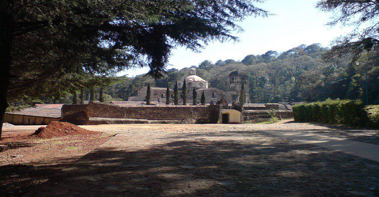 Cima del templo sacromonte