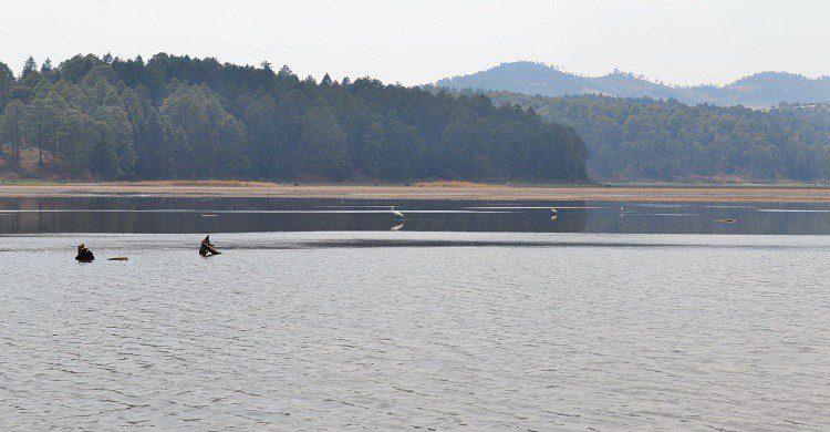 Lago en parque nacional Bosencheve