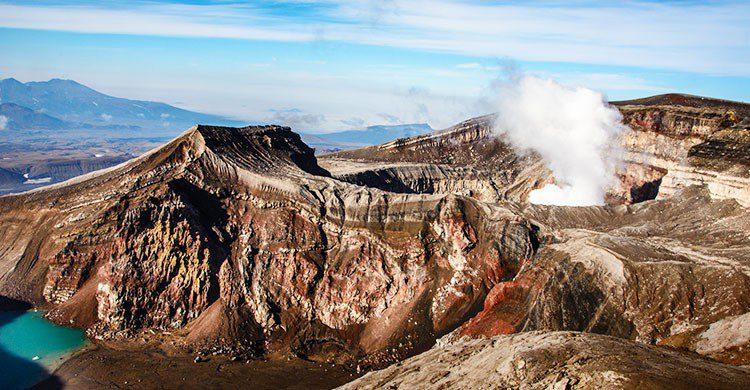Volcan kamchatka