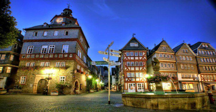 Ciudad colonial alemana