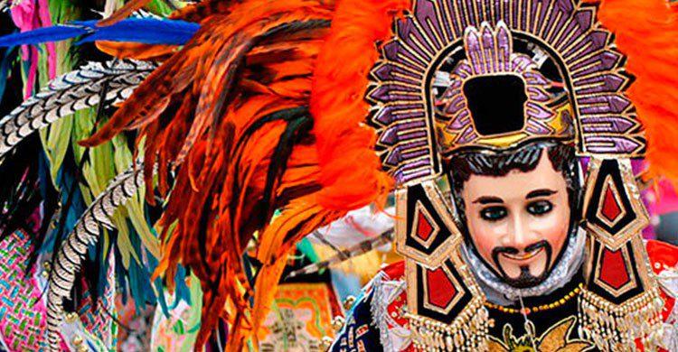 Mascaras de carnaval en Tlaxcala