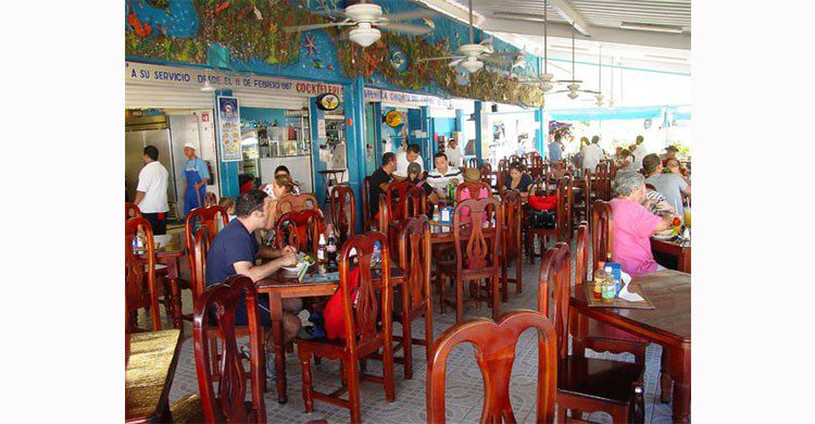 Mariscos en Cancún