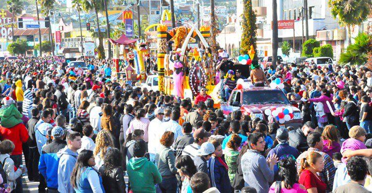 Desfile el carnaval