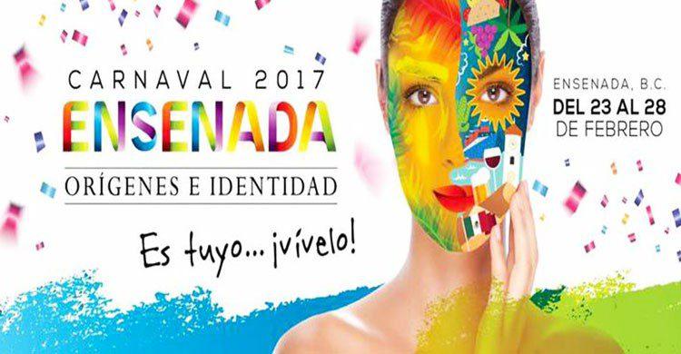 carten del Carnaval de Ensenada
