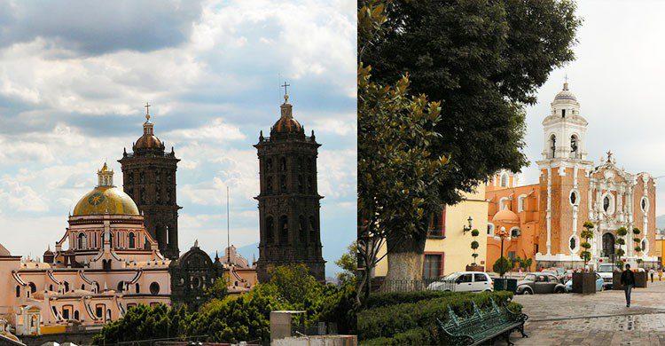 Catedrales de Puebla y Tlaxcala