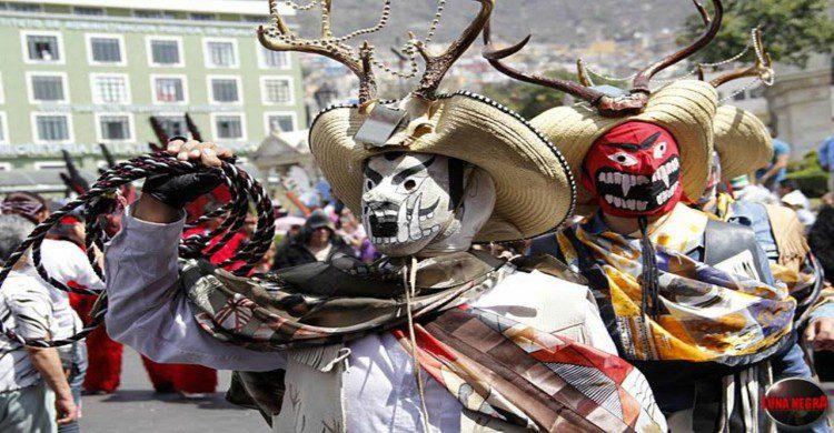 Mekos tradición del carnaval