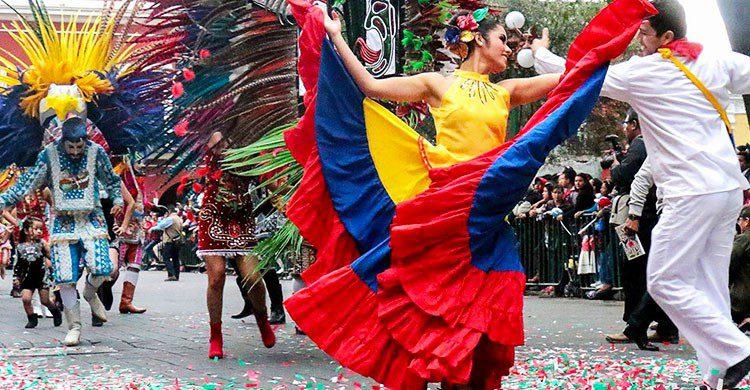 Danzas en carnaval de Tlaxcala