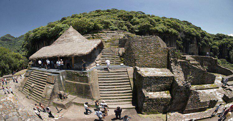 Zona arqueológica en Toluca