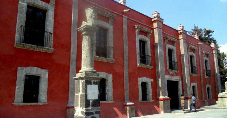 Fachada de casa Morelos