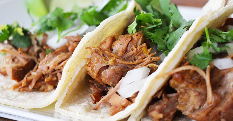 Taco de Michoacán