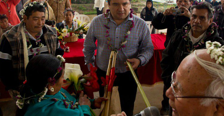 Celebración de año nuevo azteca