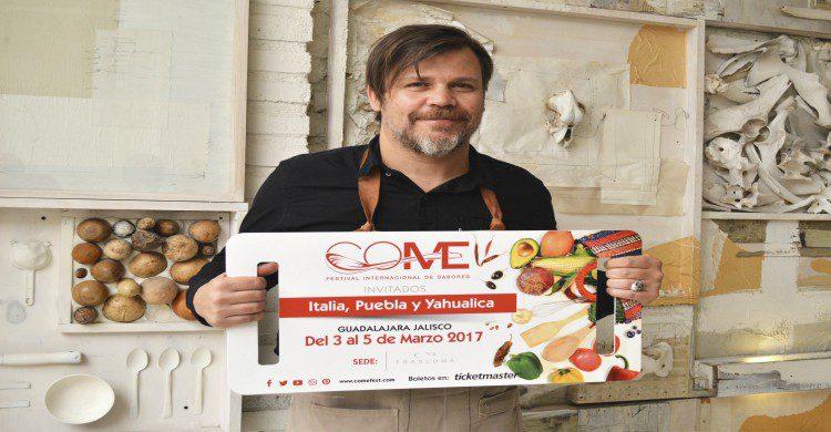 Chef Alfonso Cadena de Hueso Restaurante