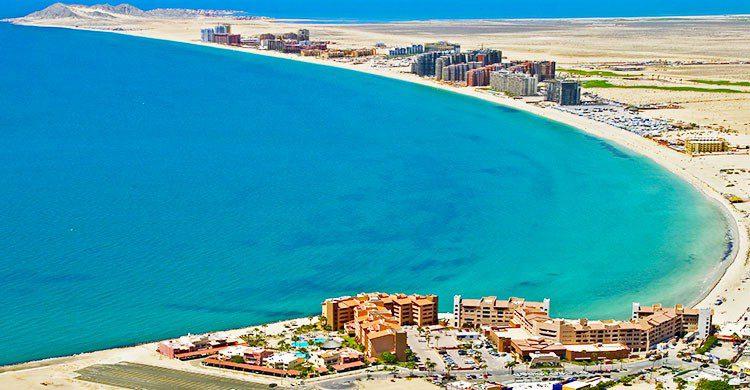 Playa en puerto peñasco