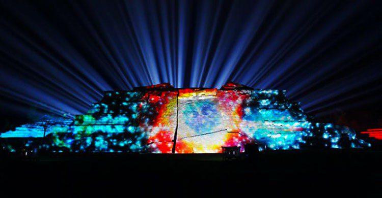 Show de iluminación