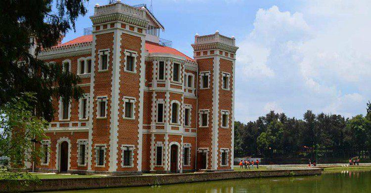 Edificio de la Ex-hacienda de Chautla