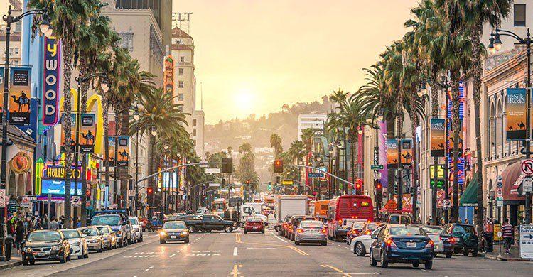 Los Ángeles en verano